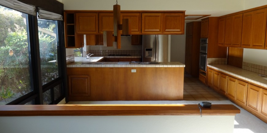 Sierra Madre Kitchen Remodeling Before And After Photos